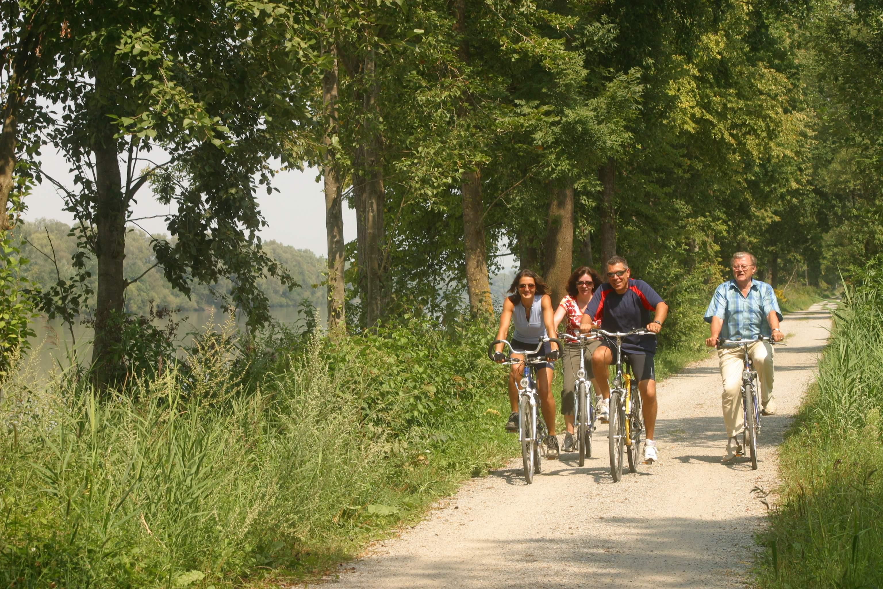 Radtour in der Region